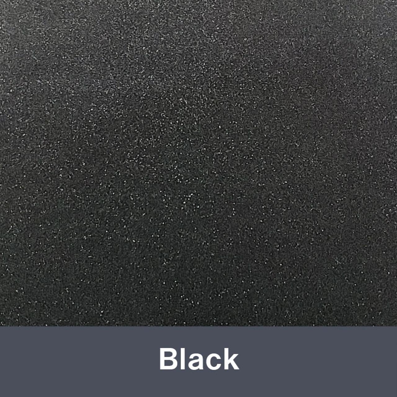 "Ultra Metallic Black 12"" x 15"""