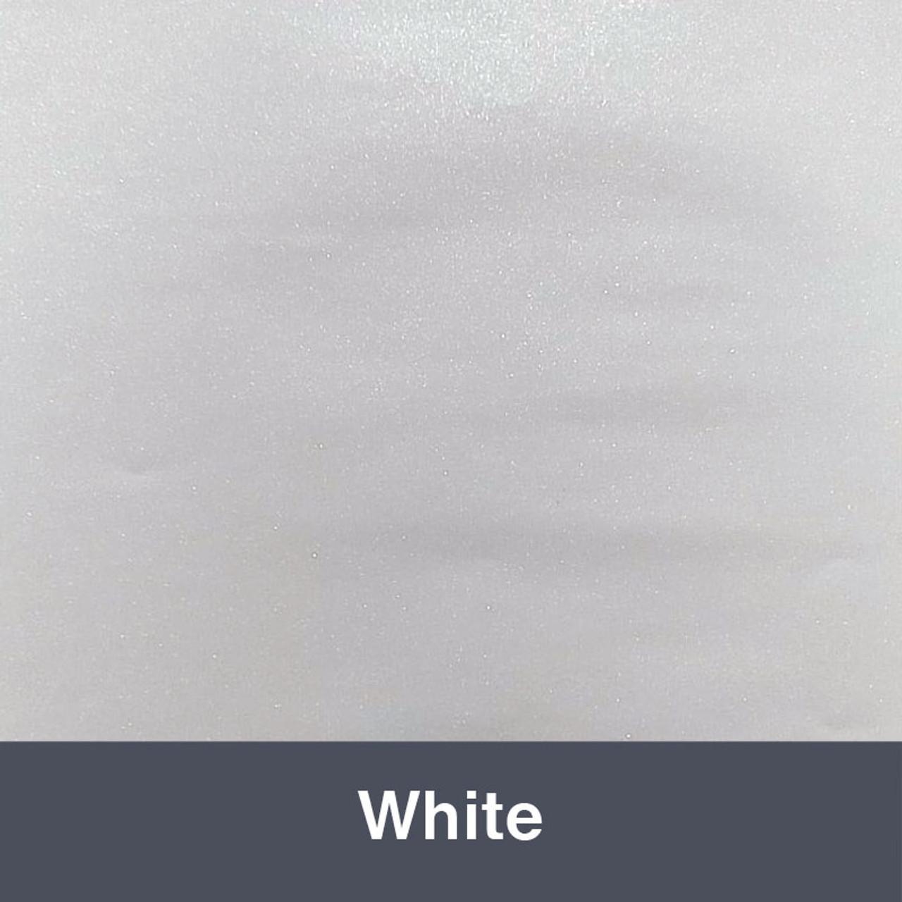 """Ultra Metallic White 12"""" x 15"""""""