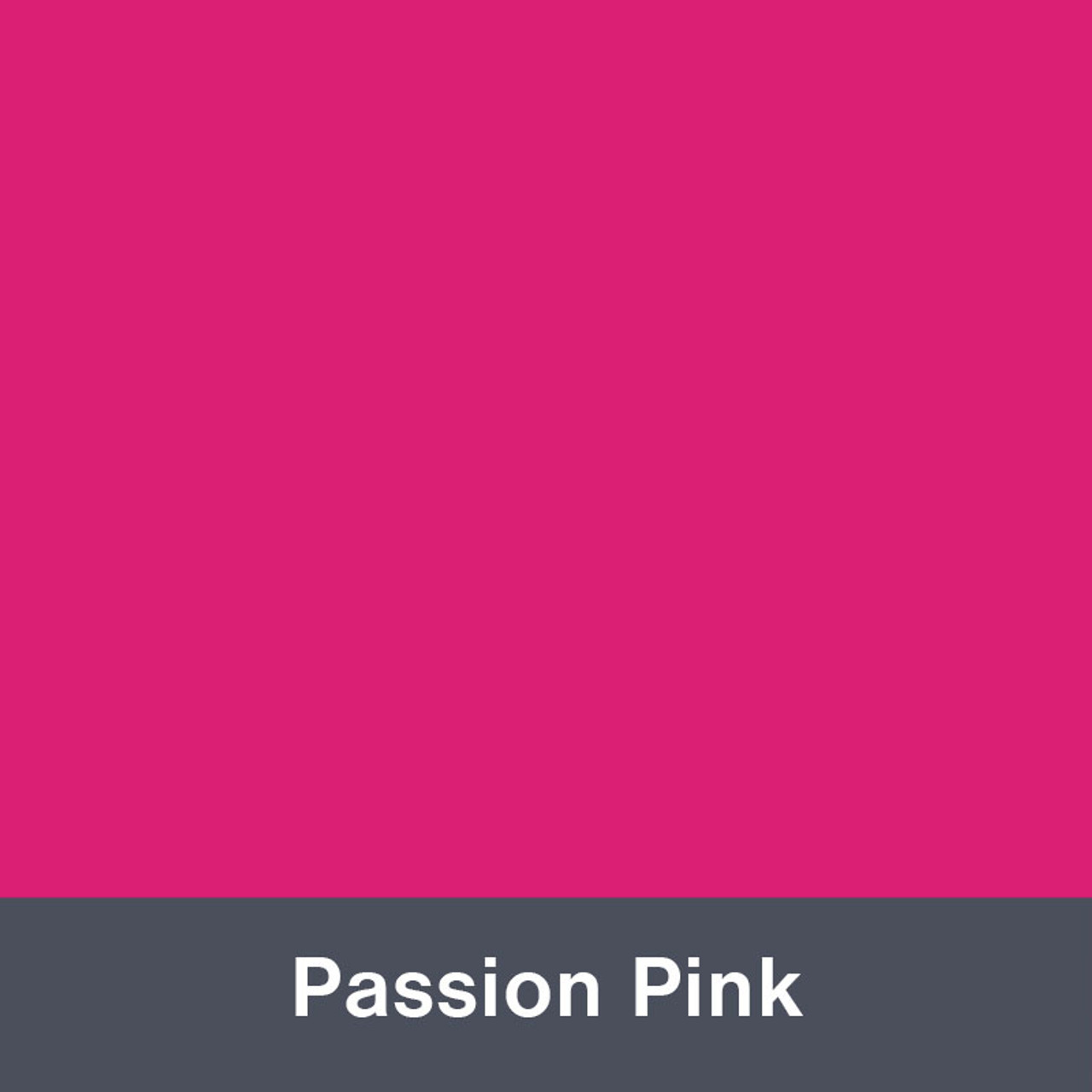 """Iron-on Passion Pink Stretch 12"""" x 14.75"""""""
