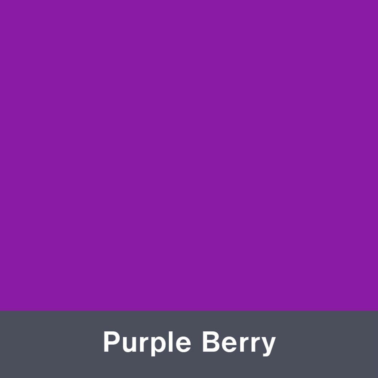 "Iron-on Purple Berry Stretch 12"" x 14.75"""