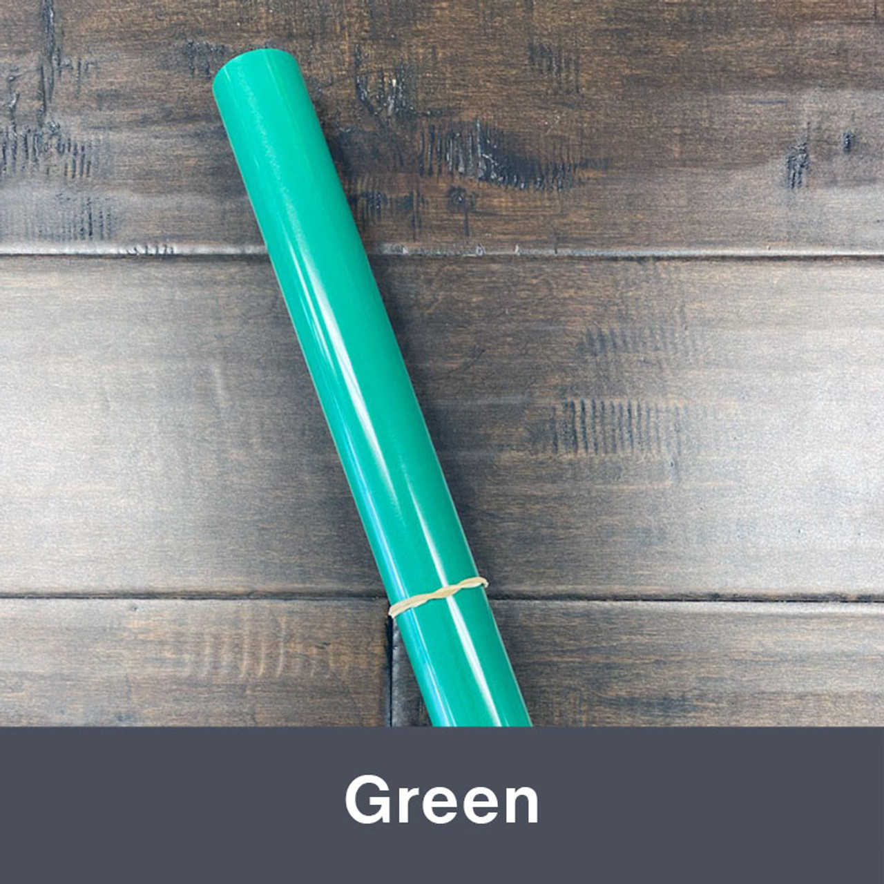 "Iron-on Green 14.75"" x 36"" (1yd)"