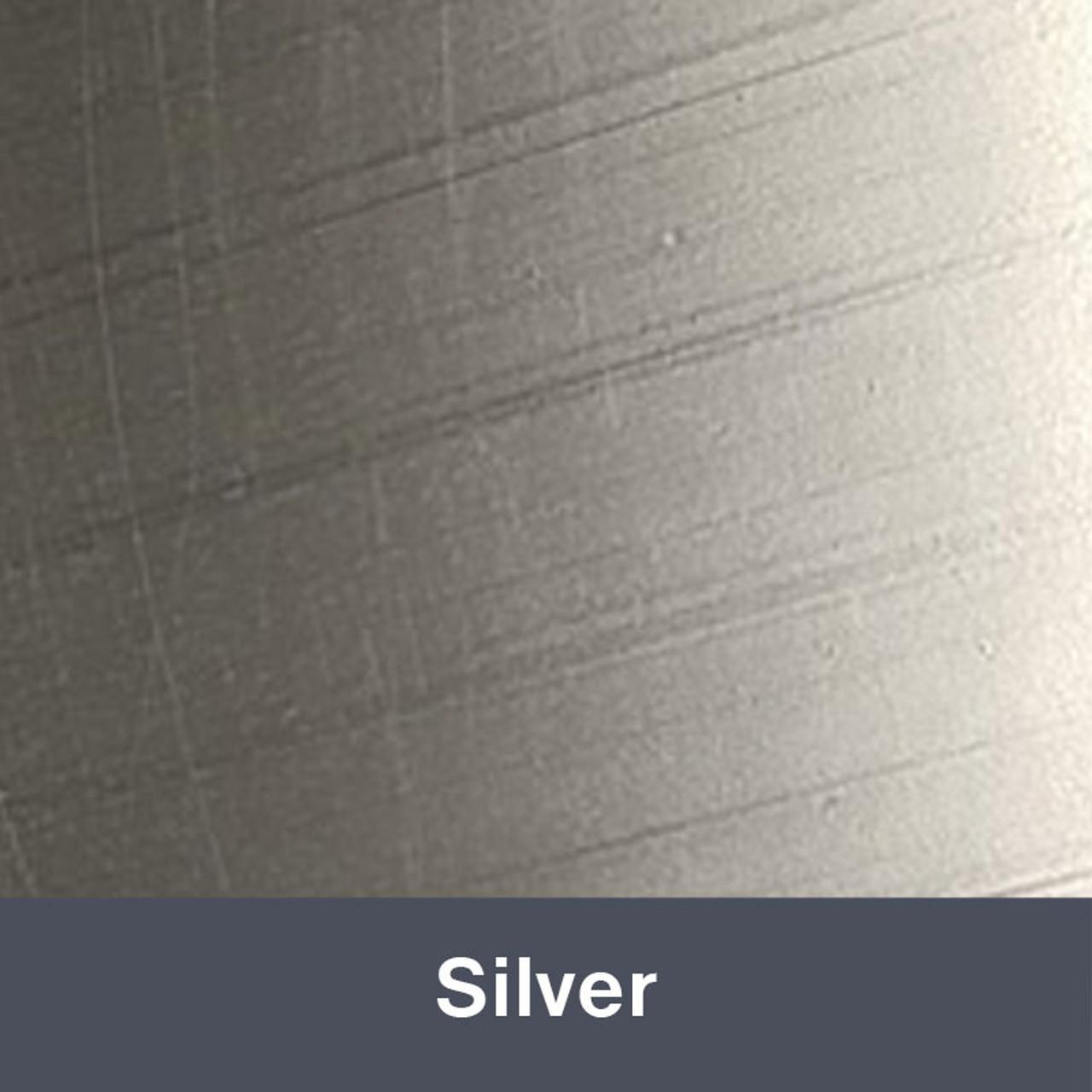"Iron-on 12"" x 14.75"" Silver MetalFlex"