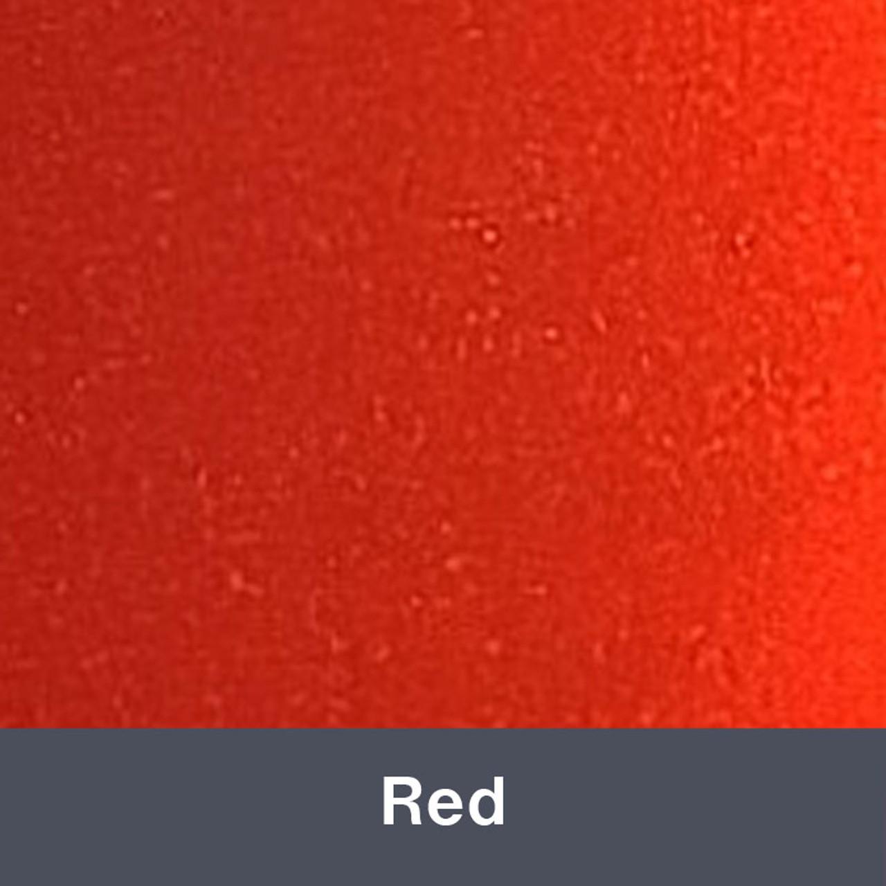 "Iron-on 12"" x 14.75"" Red MetalFlex"
