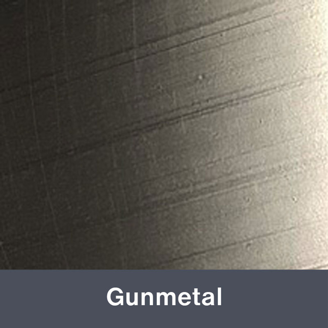 "Iron-on 12"" x 14.75"" Gunmetal MetalFlex"