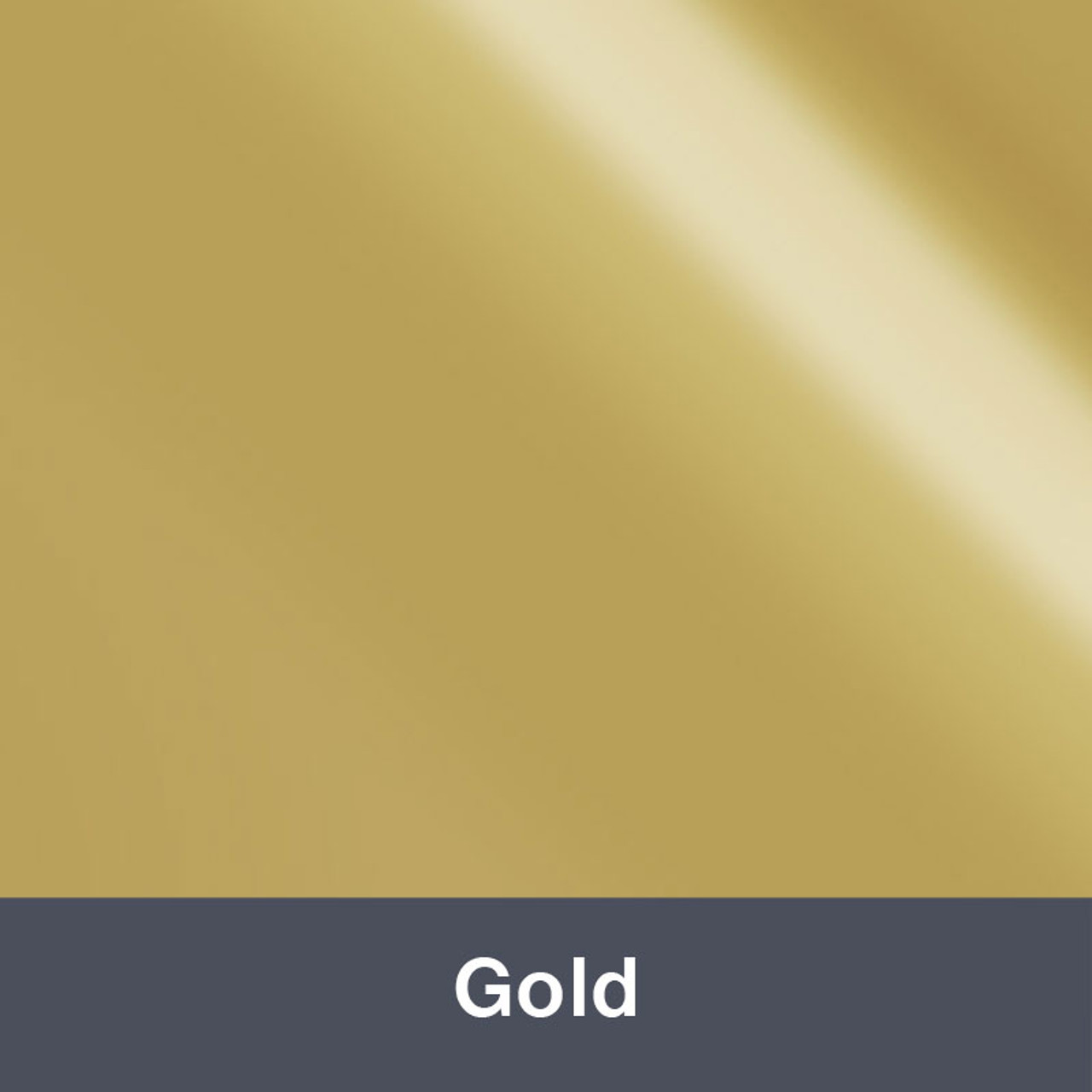 "Iron-on Gold 12"" x 14.75"""