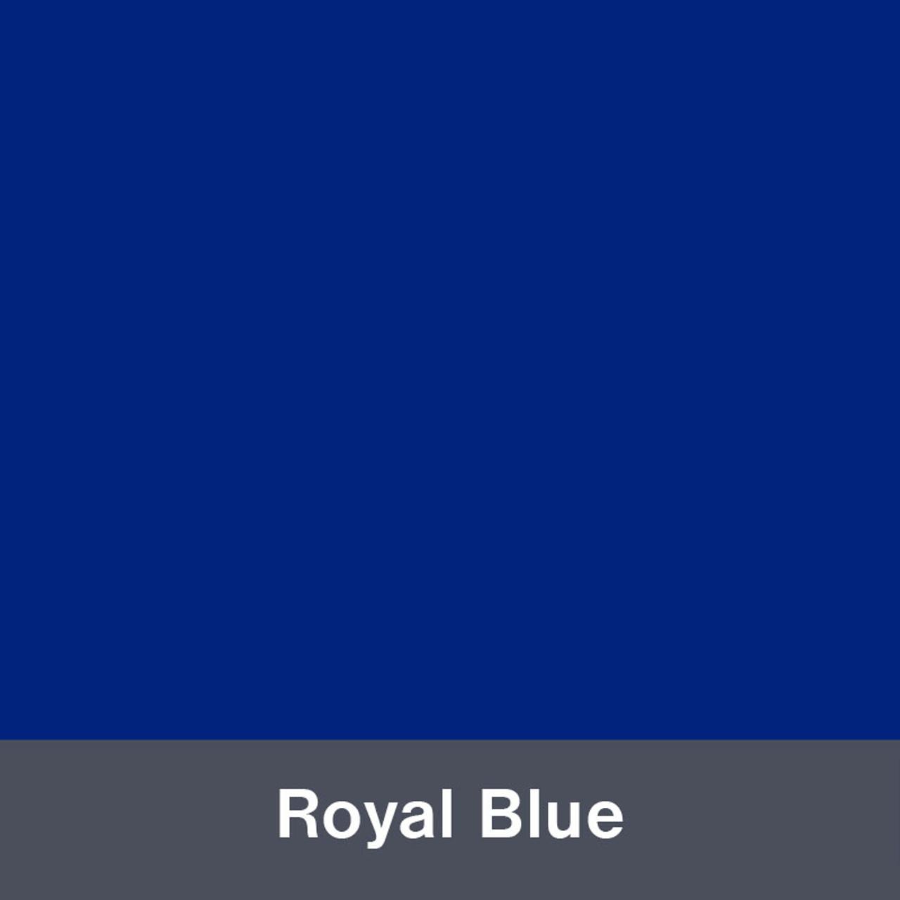 "Iron-on Royal Blue 12"" x 14.75"""