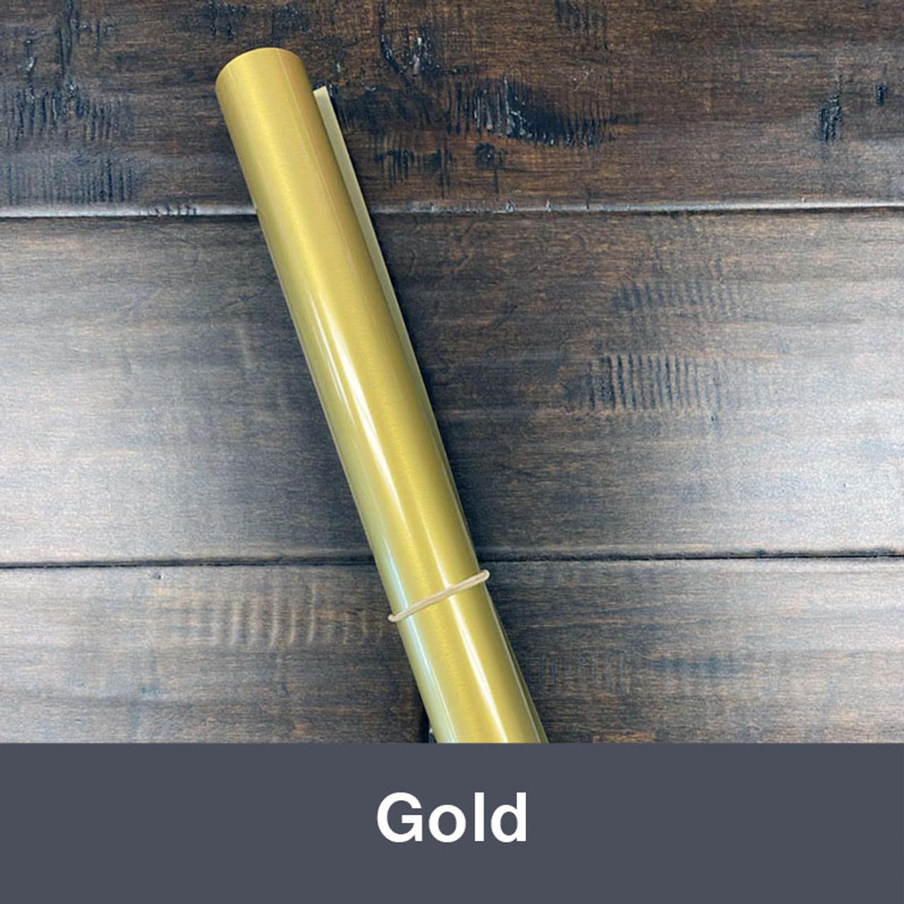 "Iron-on 14.75"" x 36"" (1yd) Gold"
