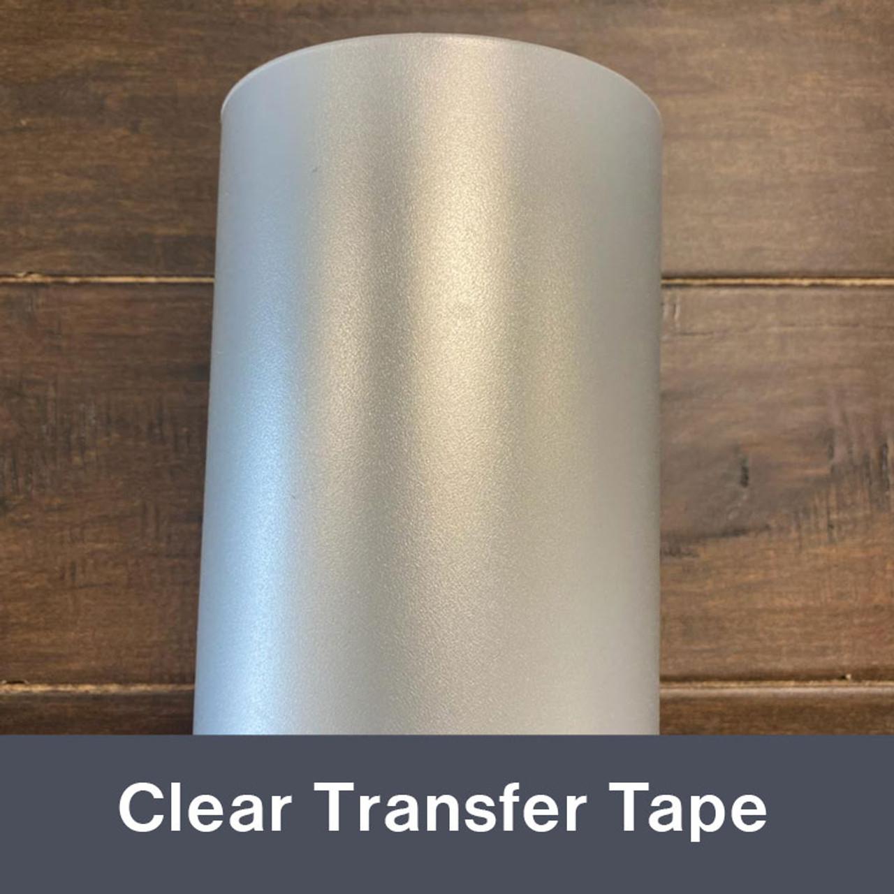 """Transfer Tape Roll  Medium Tack Clear 6""""x50 yd"""