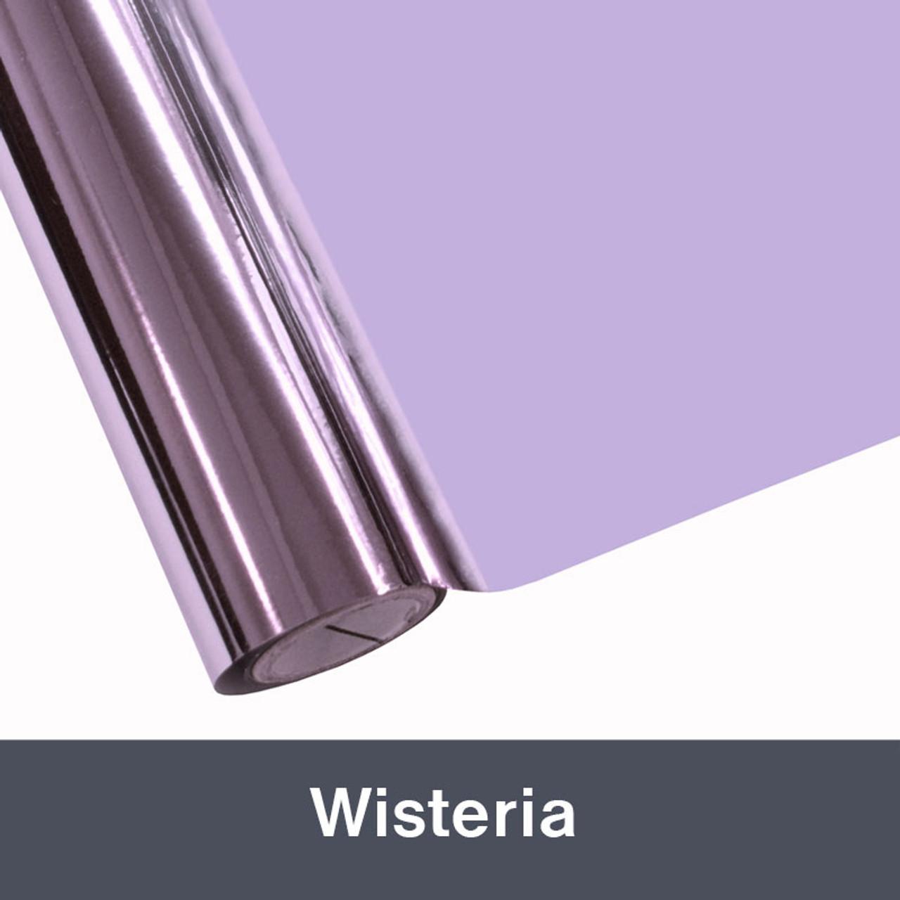 """Wisteria Textile  Foil 12"""" x 1 yd"""