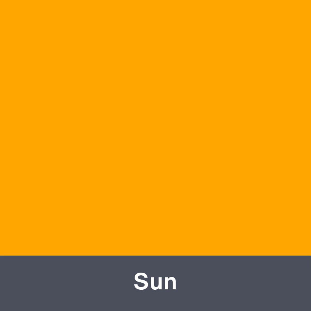 """Iron-on Sun 12"""" x 14.75"""""""