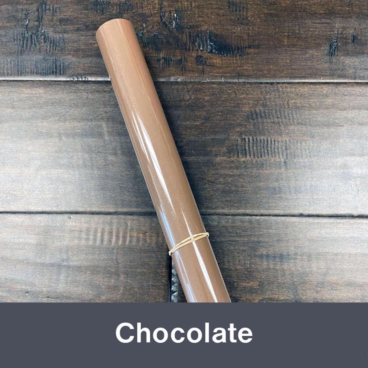"Iron-on 14.75"" x 36"" (1yd) Chocolate"