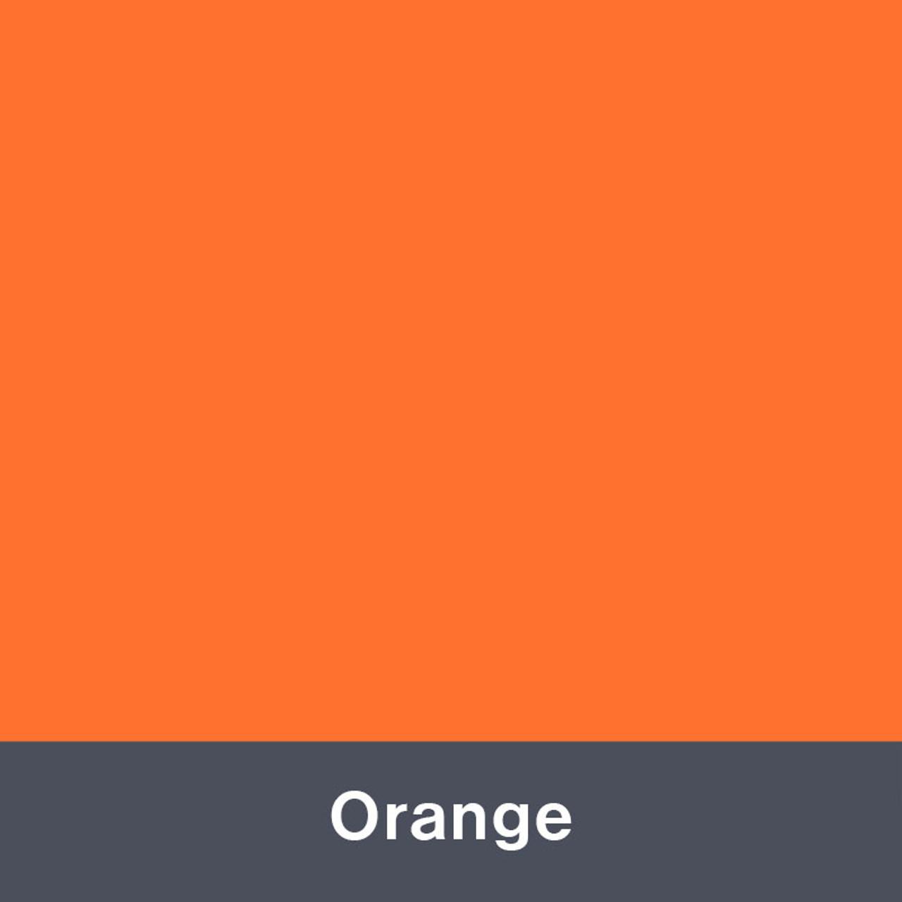 "Iron-on Orange 12"" x 14.75"""