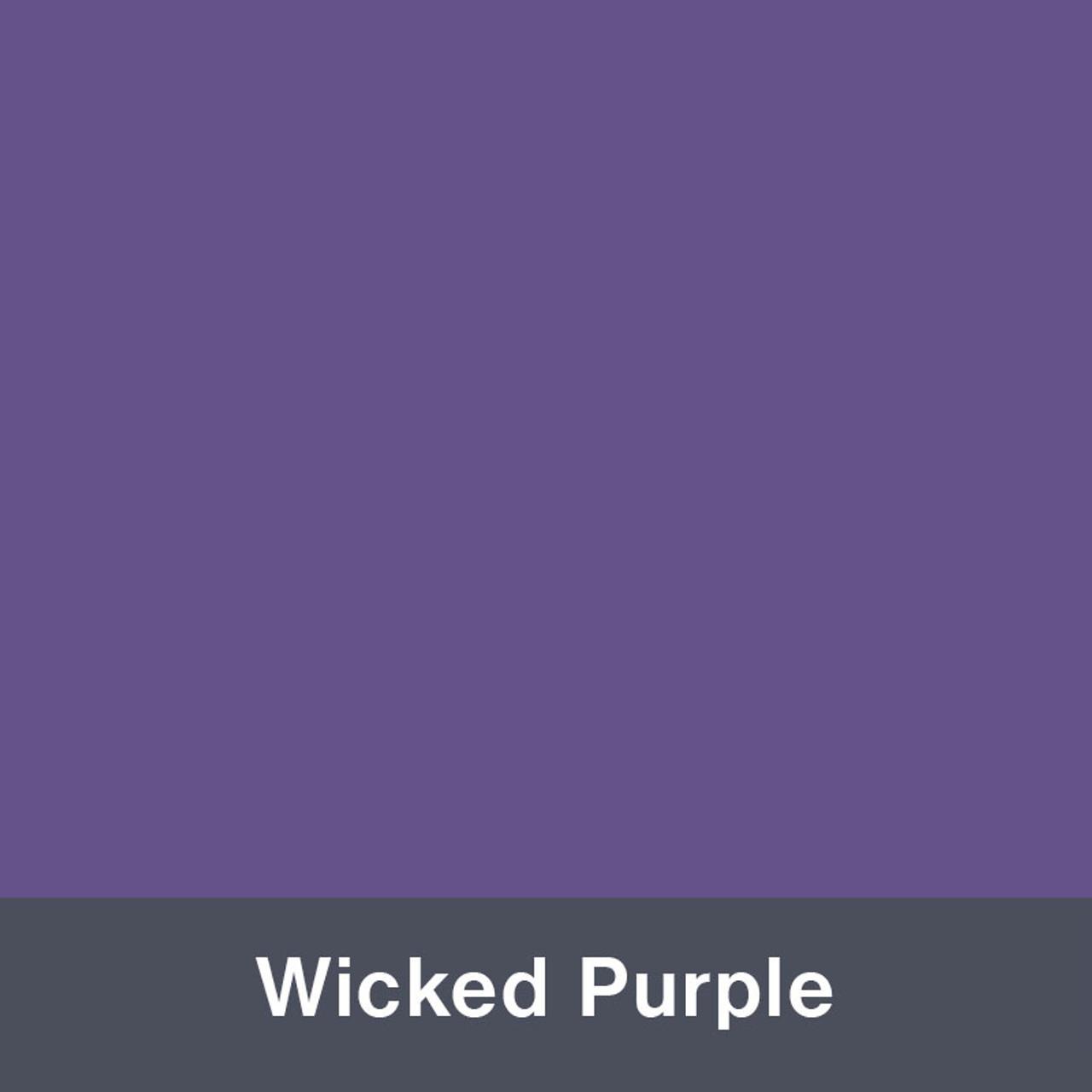 "Iron-on Wicked Purple 12"" x 14.75"""