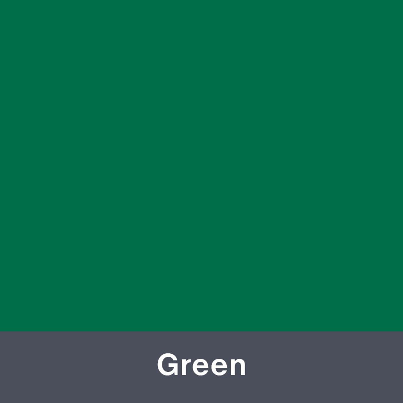 "Iron-on Green 12"" x 14.75"""