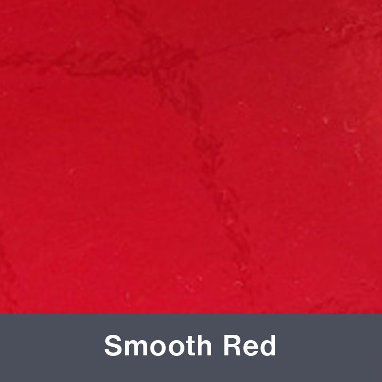 """Smooth Red 12"""" x 24"""""""