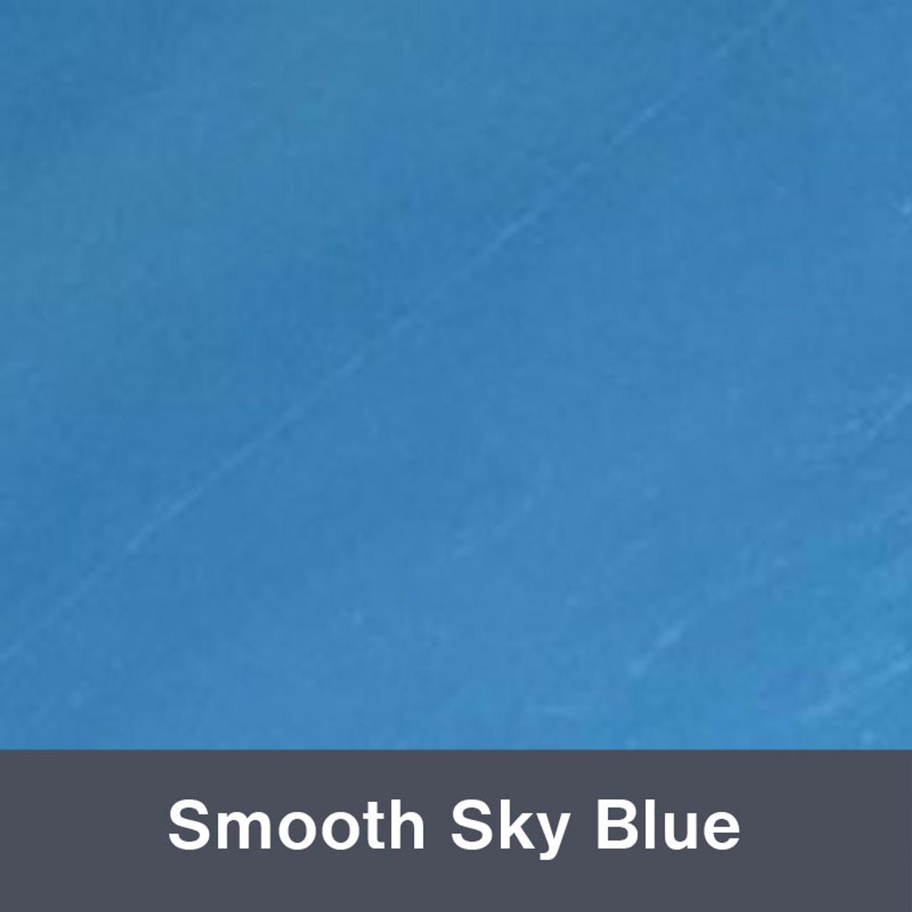 """Smooth Sky Blue 12"""" x 24"""""""