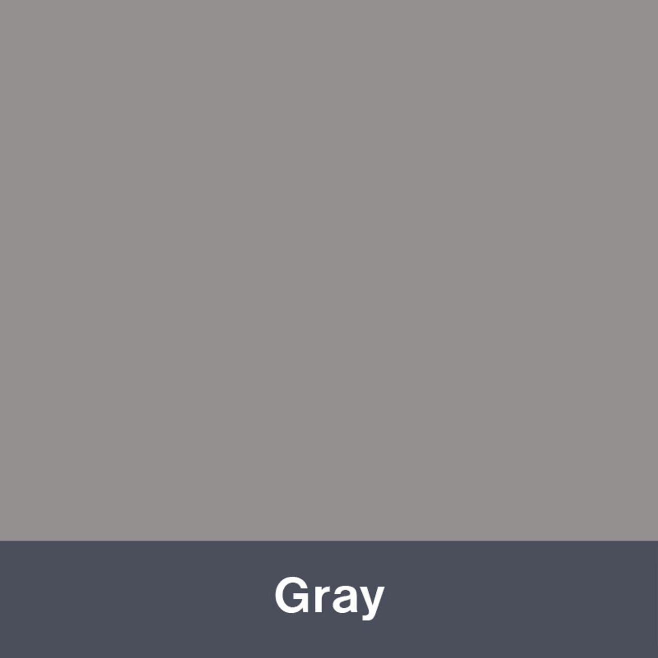 """Iron-on Gray 12"""" x 14.75"""""""