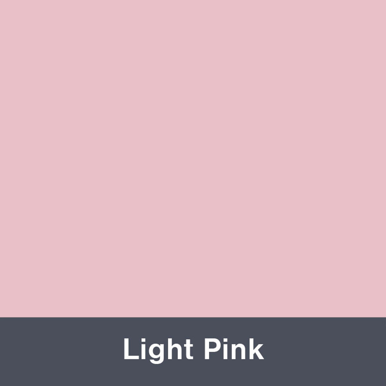 "Iron-on Light Pink 12"" x 14.75"""