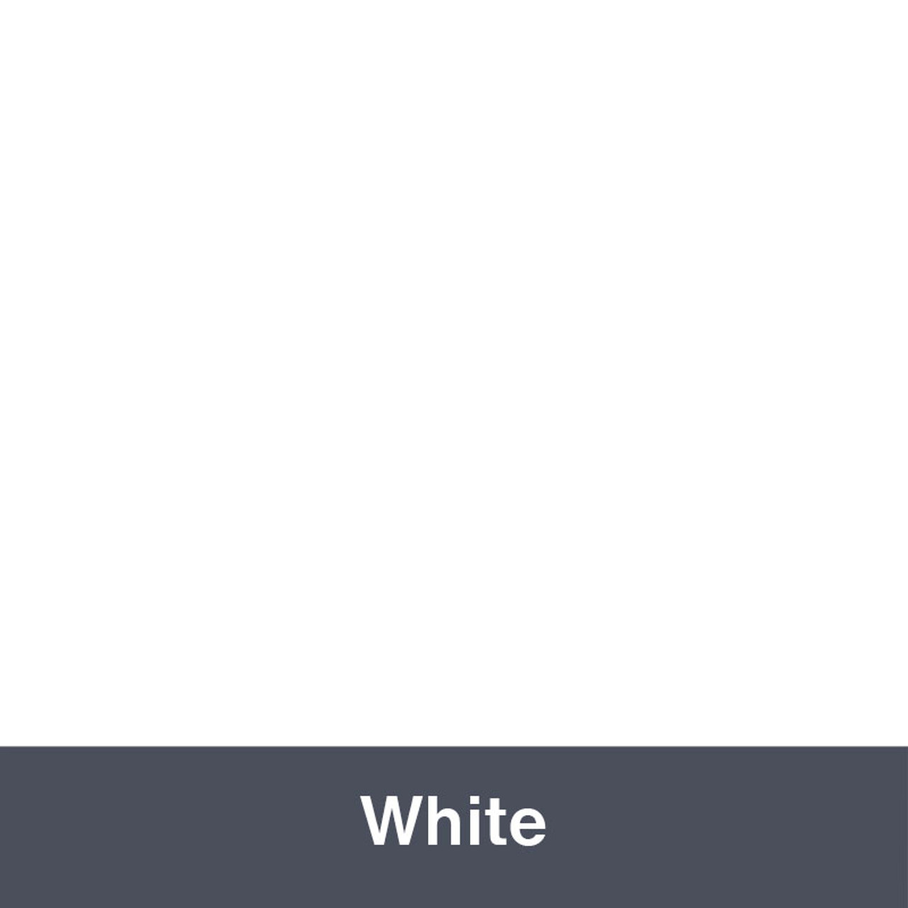 """White IP3600 (Gloss) 12"""" x 24"""" Permanent"""