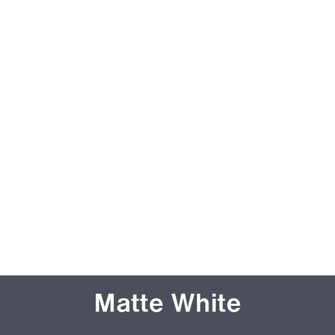 "Matte White IP3600 12"" x 24"" Permanent"
