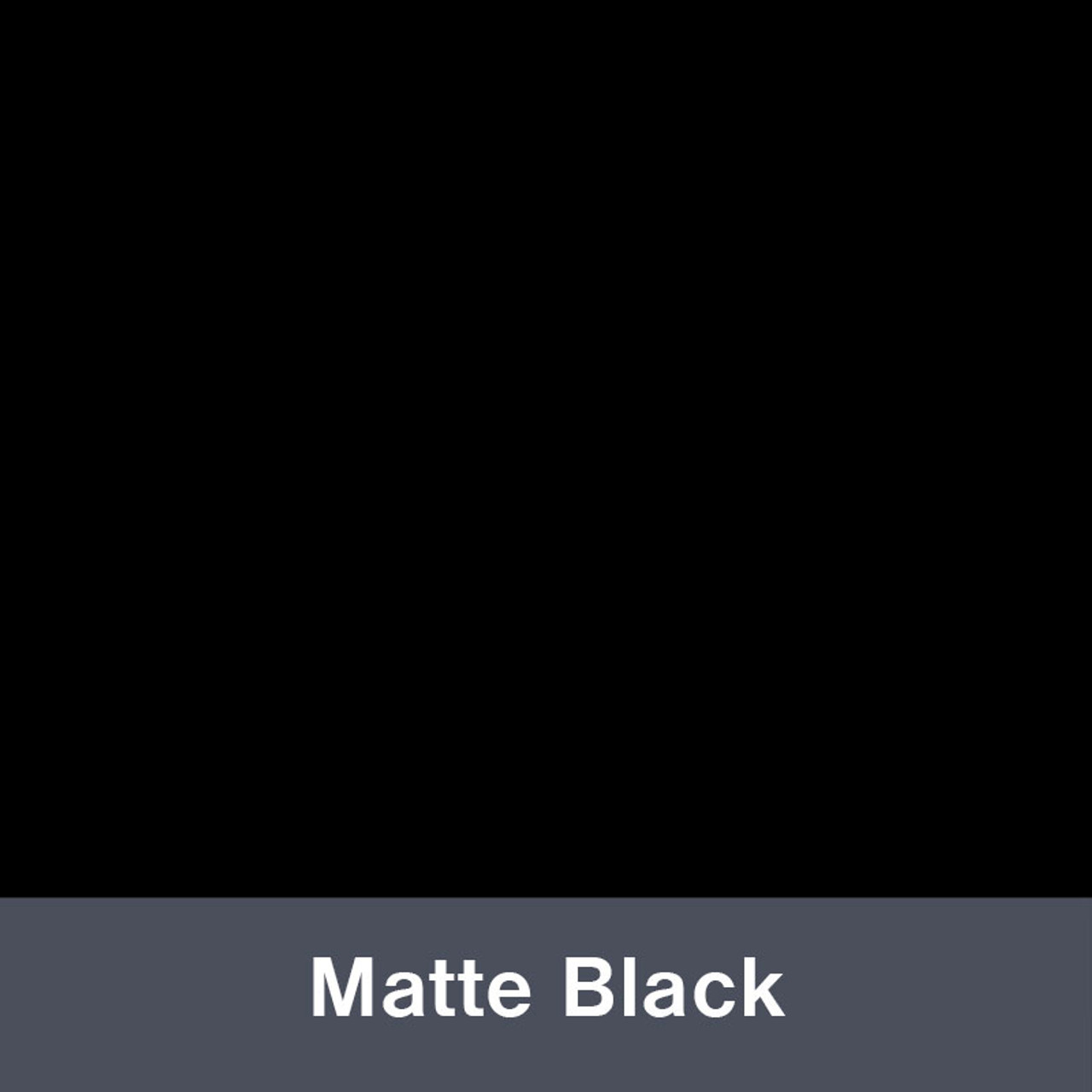 "Matte Black IP3600  12"" x 24"" Permanent"