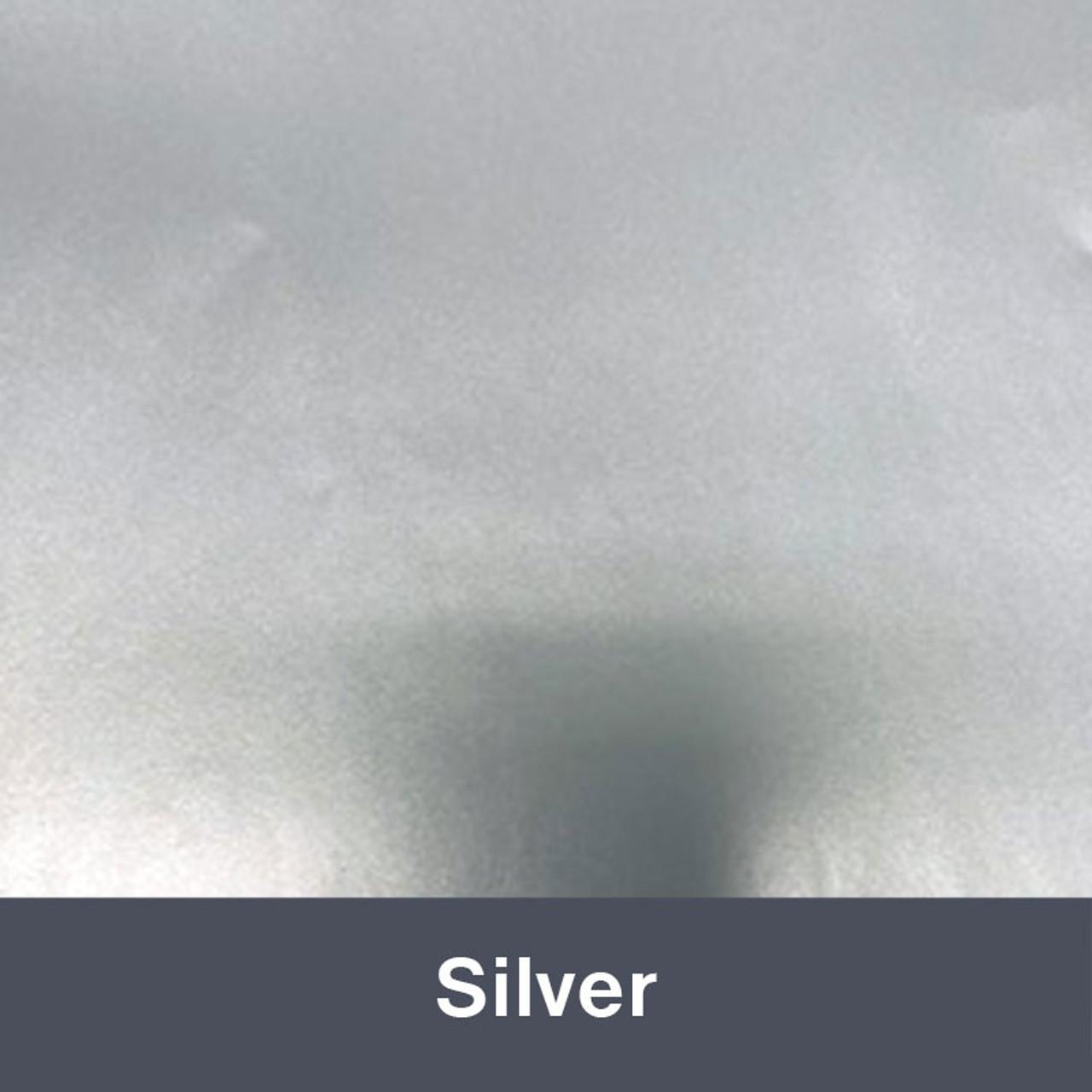 "Metallic Silver  IP3600 (Gloss) 12"" x 24"" Permanent"
