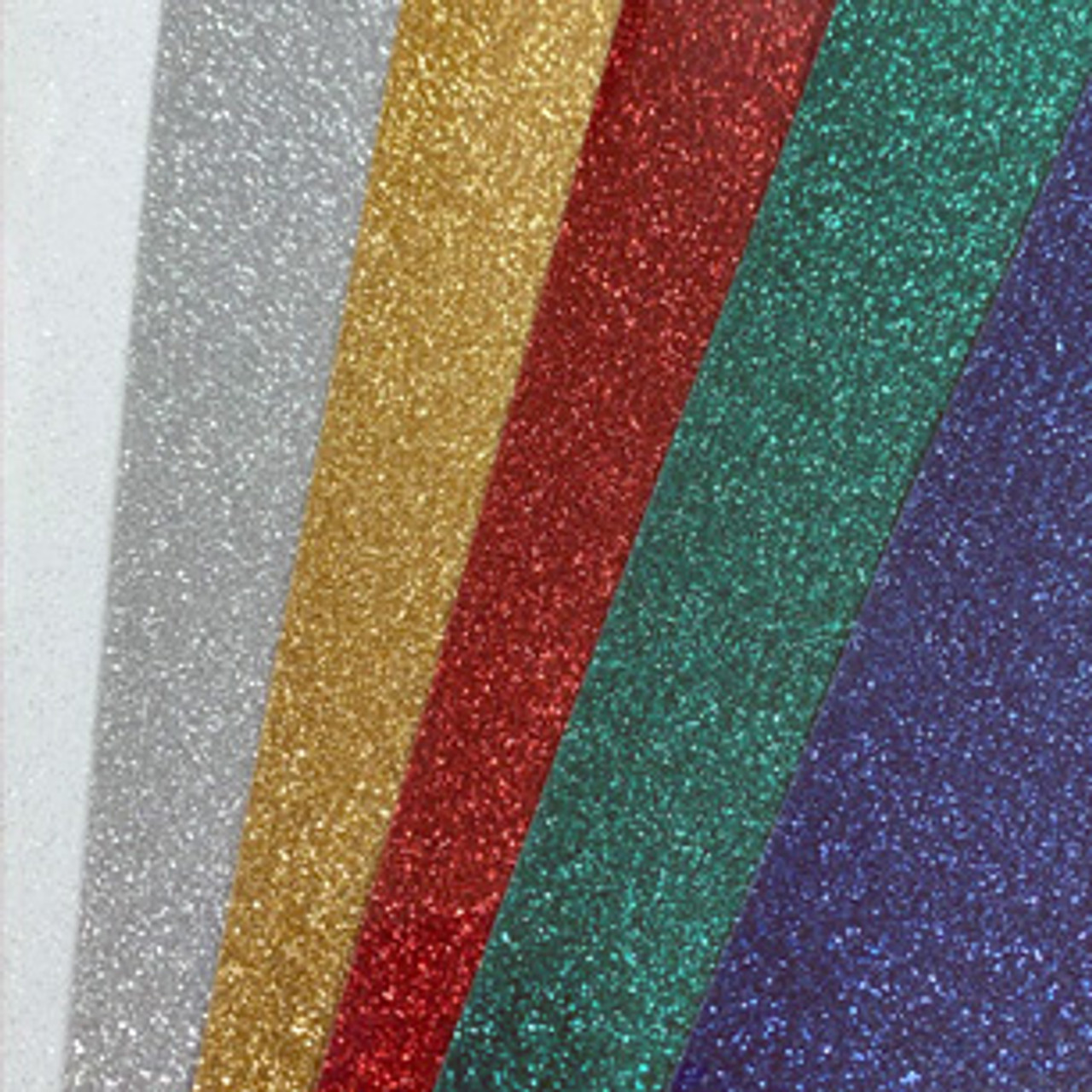 """Grab Bag 10""""x 12"""" Glitter Heat Transfer- Sold by the Individual Sheet"""