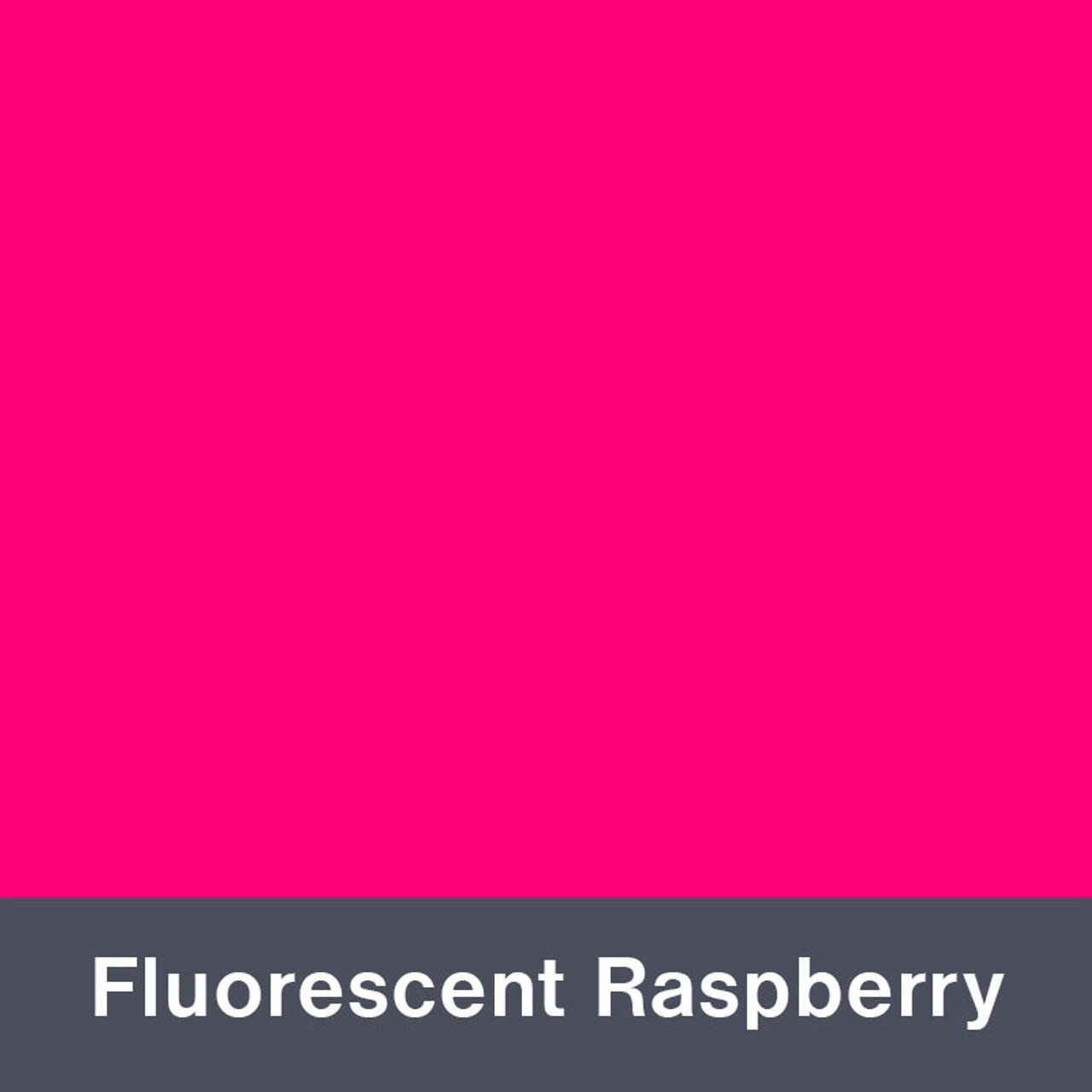 "Iron-on Fluorescent Raspberry 12"" x 14.75"""