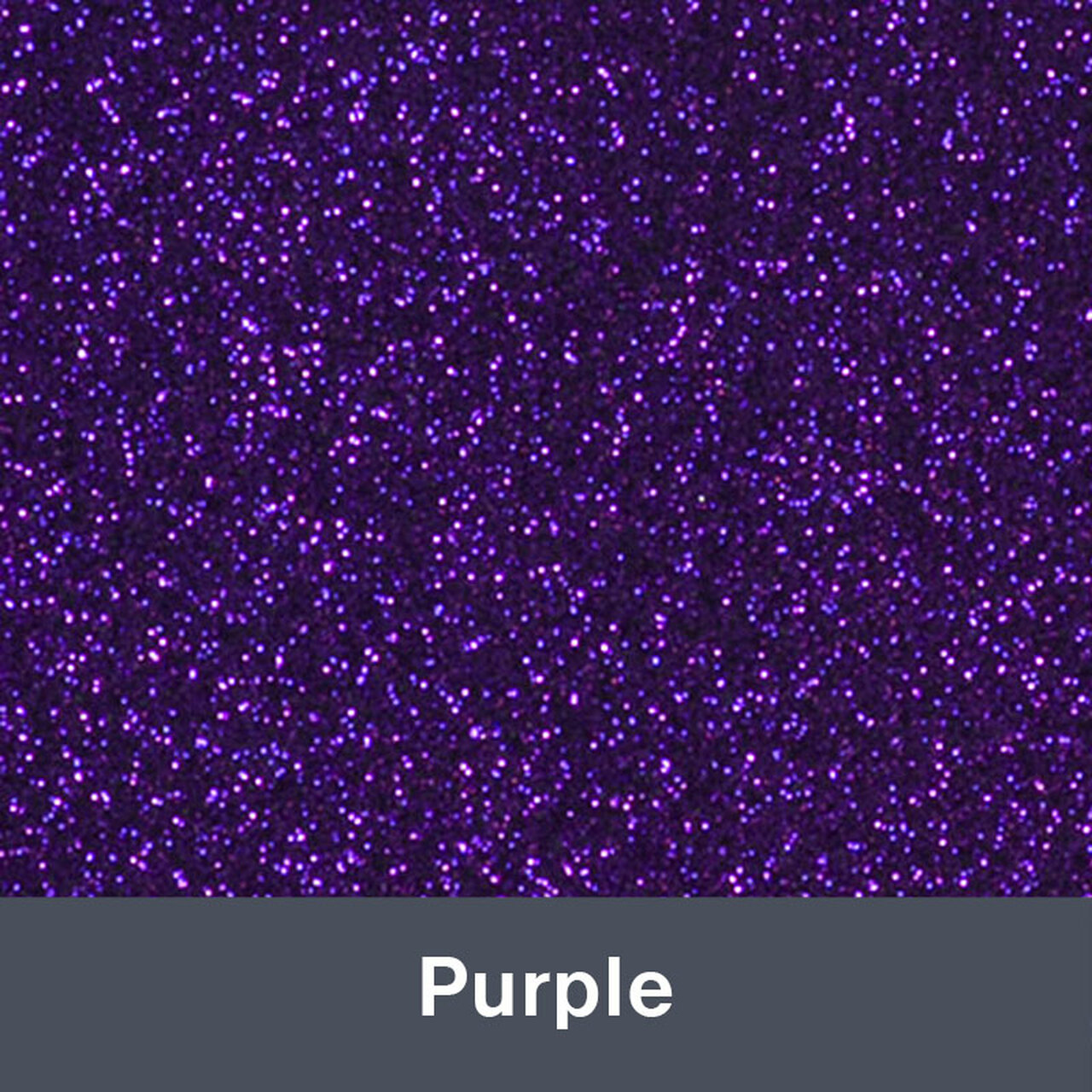 "HTV Purple Glitter (424) 19.75"" x 12"""