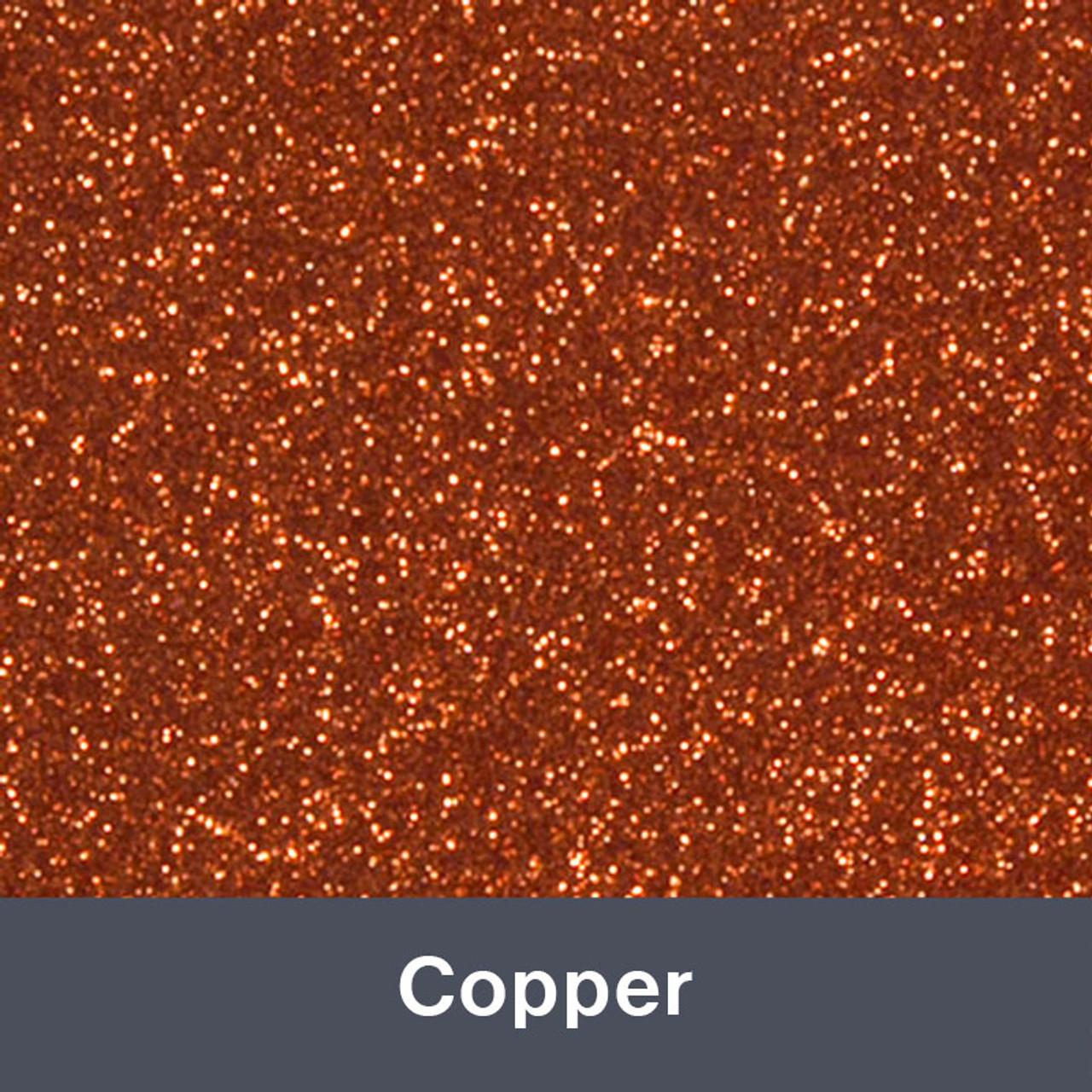 "HTV Copper Glitter (426) 19.75"" x 12"""