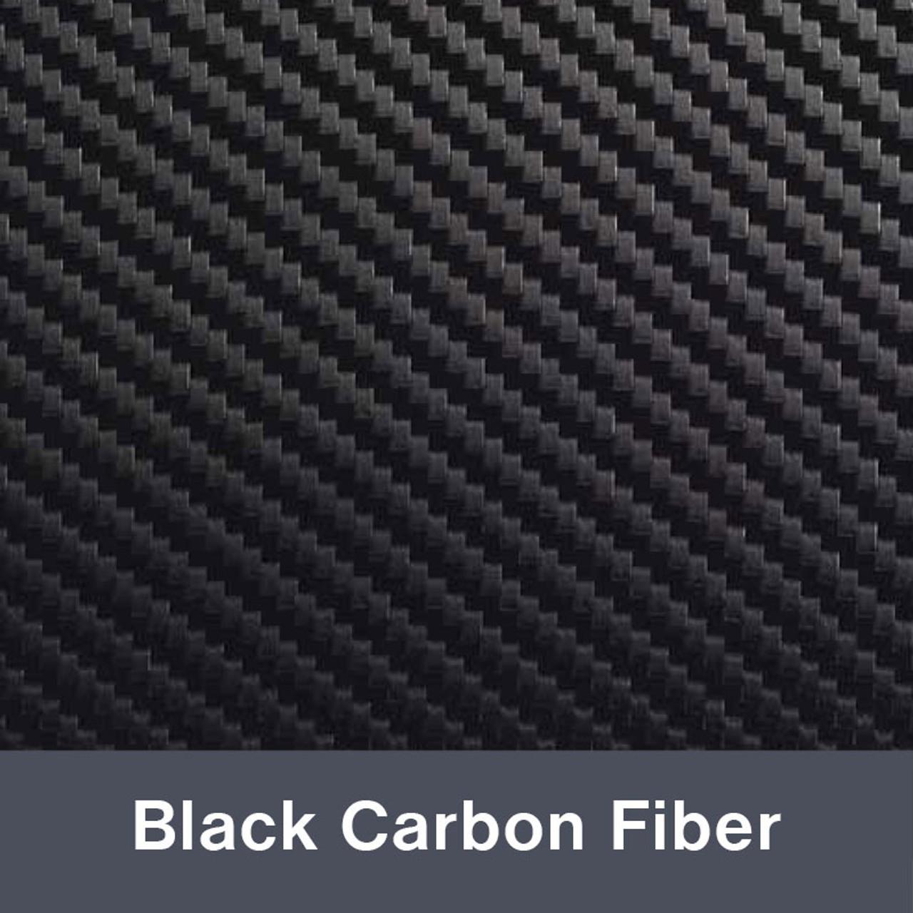 Iron-on Black Carbon Fiber 4225