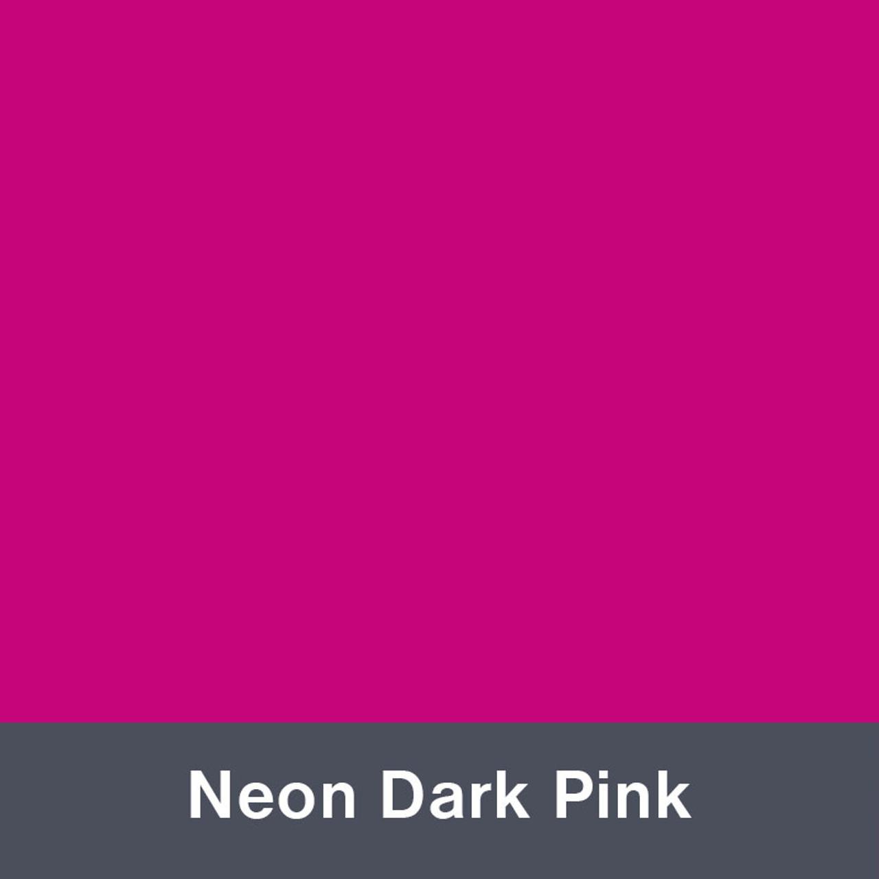 Iron-on Neon Dark Pink Turbo 4945