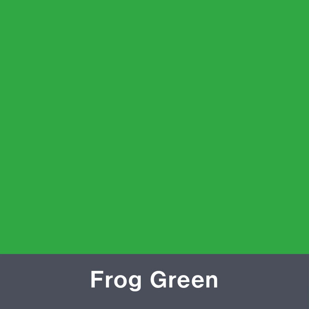 Iron-on Frog Green Turbo 4952