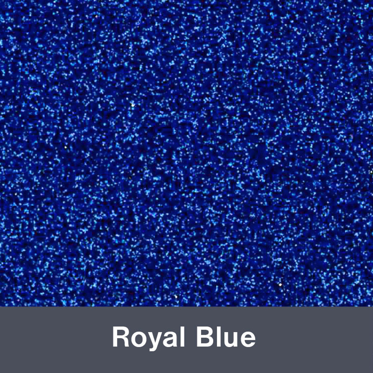 "HTV Royal Blue Glitter (489) 19.75"" x 12"""