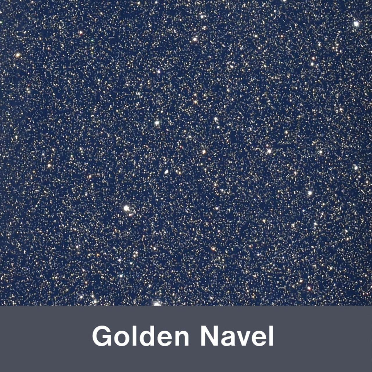 851 Golden Navel Sparkle