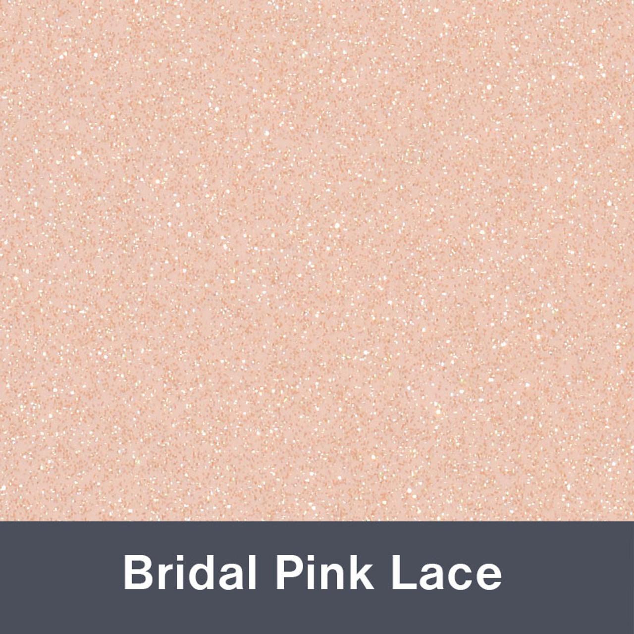 851 Bridal Pink Lace Sparkle