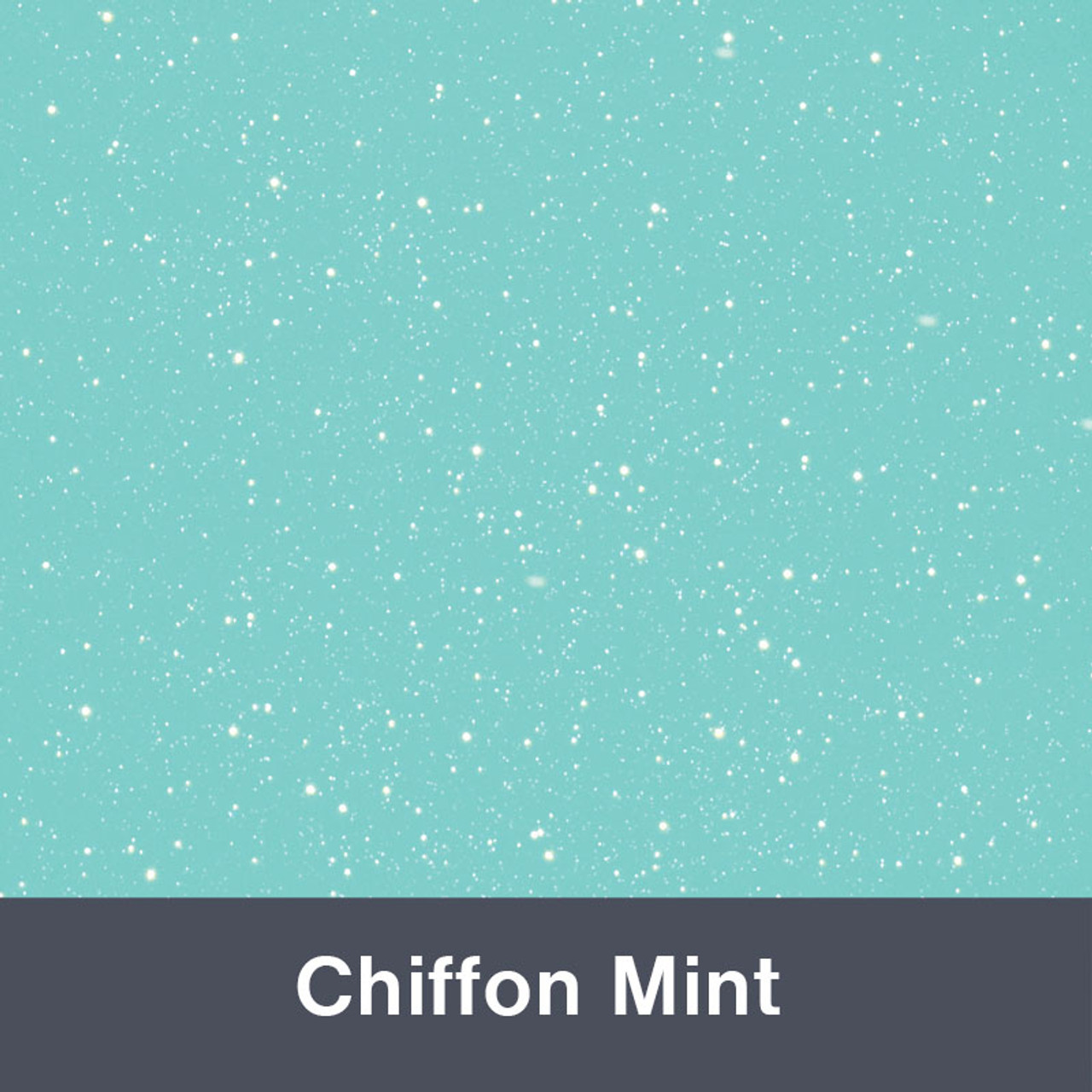 851 Chiffon Mint Sparkle