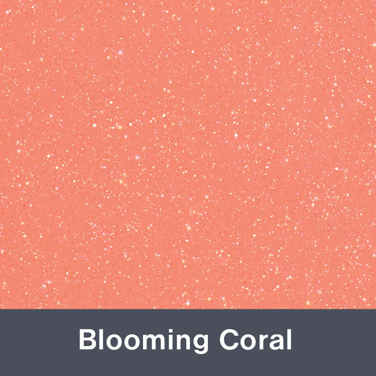 851 Blooming Coral Sparkle