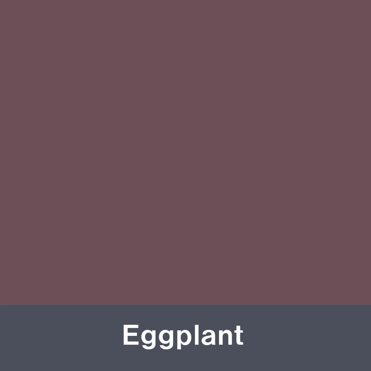 "Eggplant (Matte) 12"" x 24"""