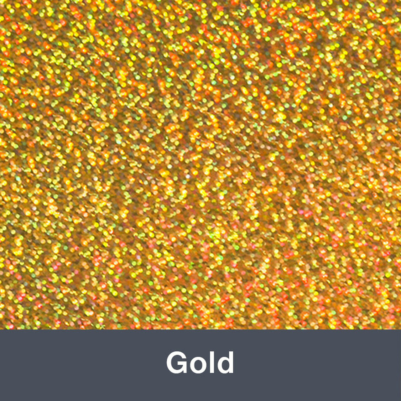 """Iron-on Gold Holographic 9.875"""" x 12"""""""""""