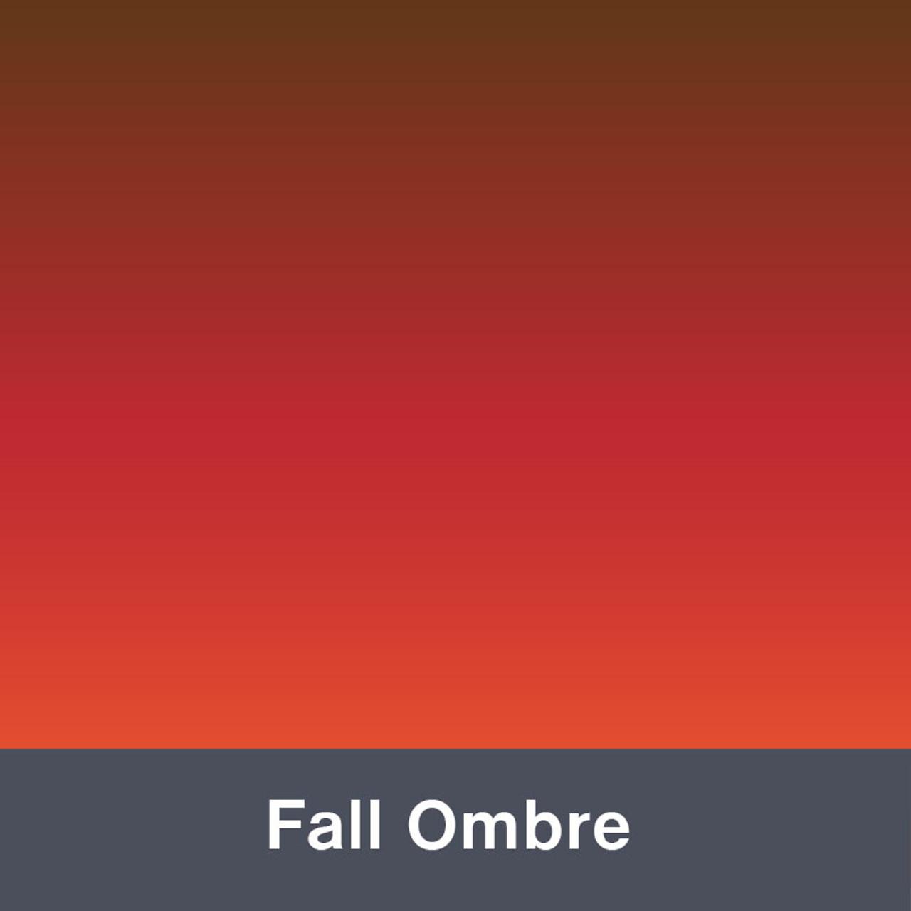 """Fall Ombre MATTE Permanent  Vinyl 12""""x  12"""""""