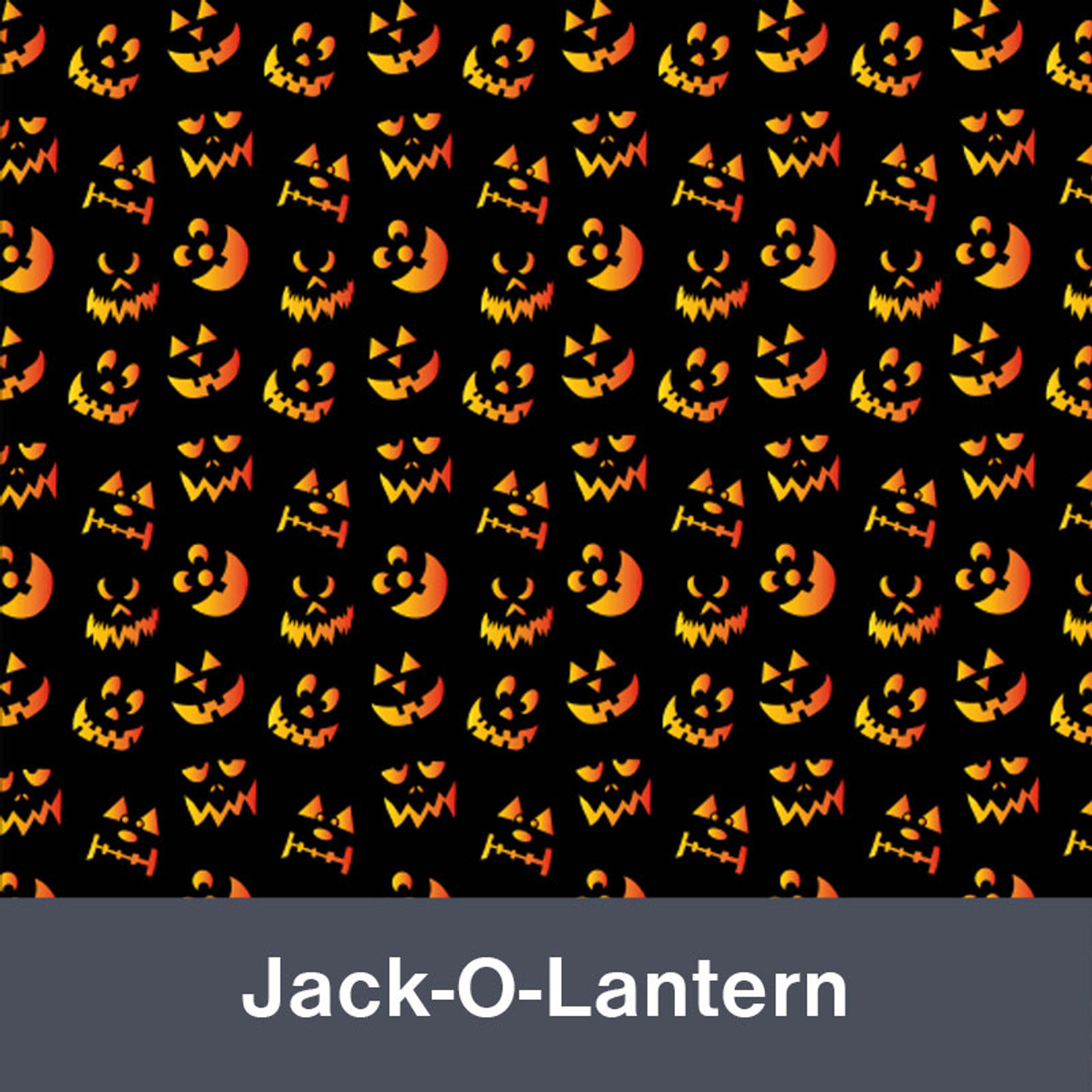 """Jack-O-Lantern MATTE Permanent  Vinyl 12""""x  12"""""""