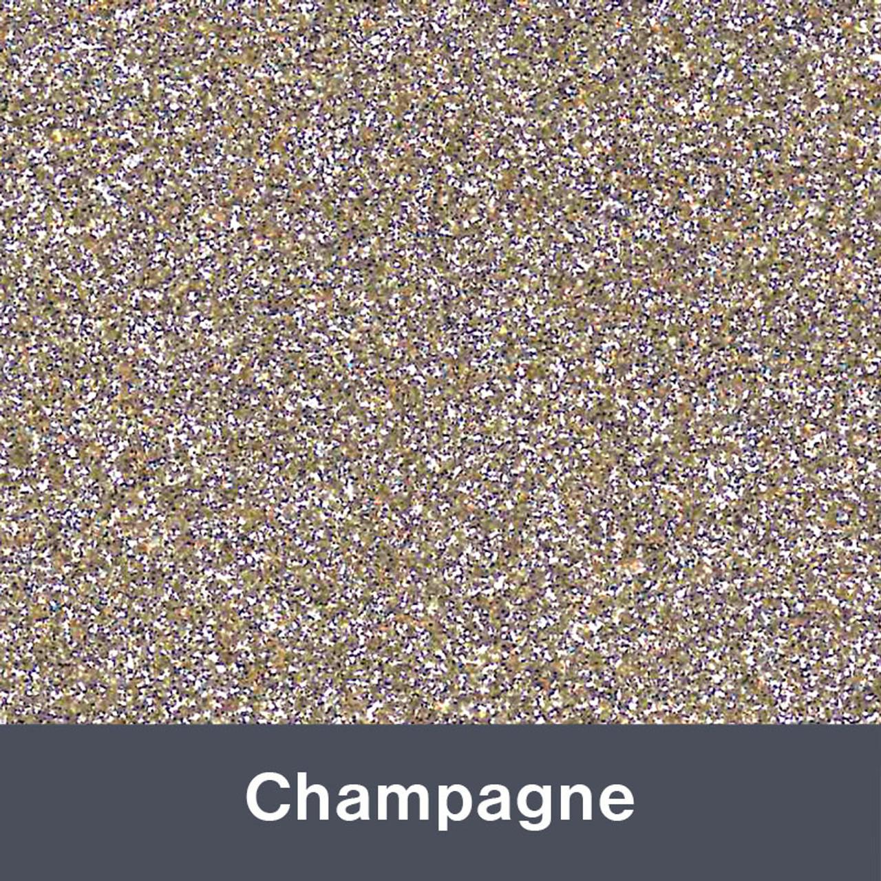 """HTV Champagne Glitter (490) 19.75"""" x 12"""""""