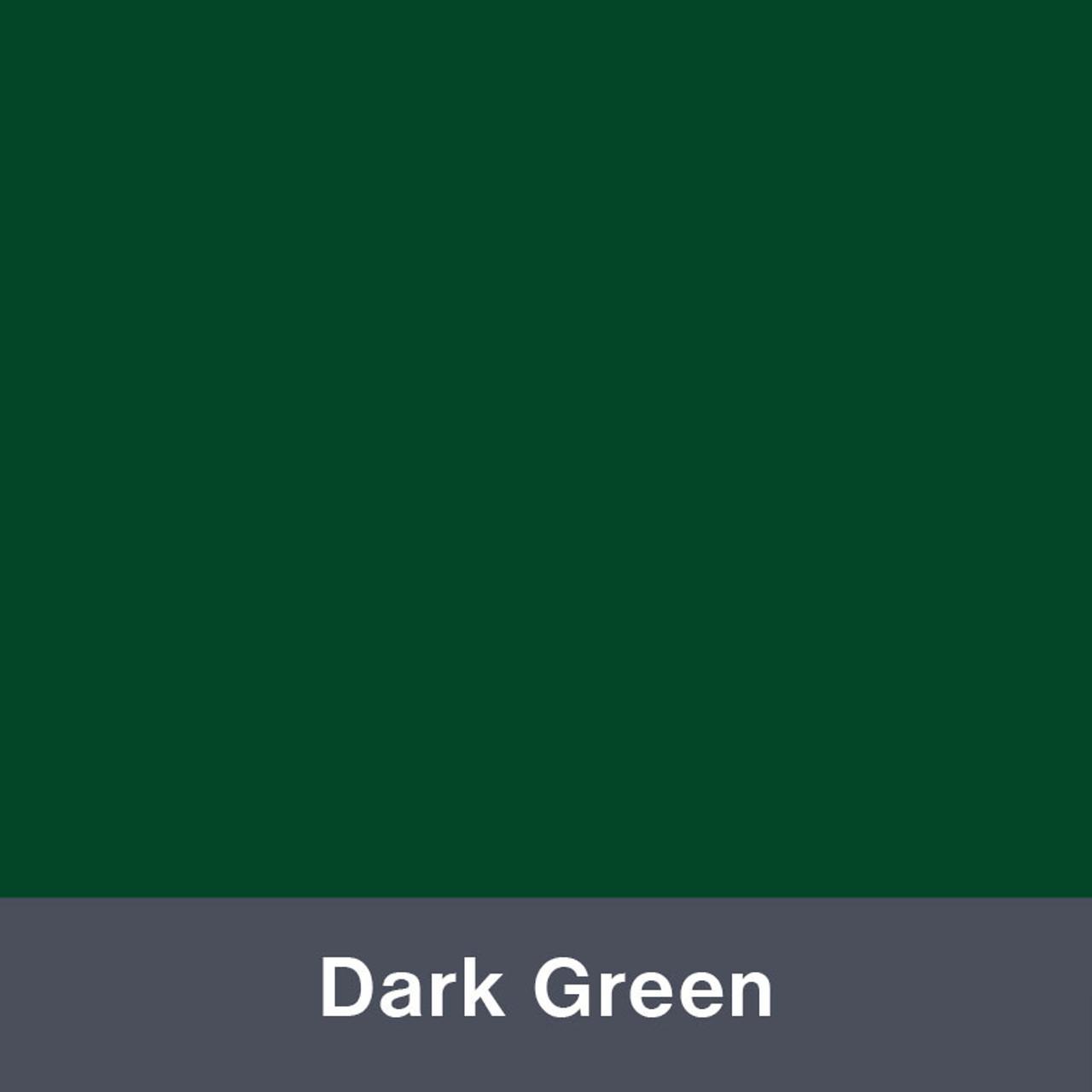 "Dark Green (Matte) 12"" x 24"""