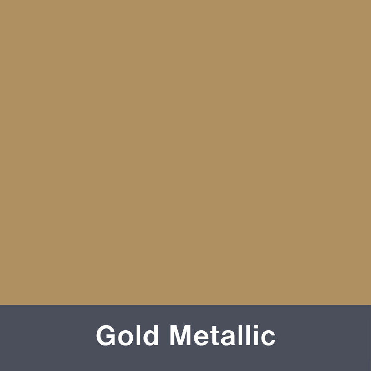 "Gold Metallic (Matte) 12"" x 24"""