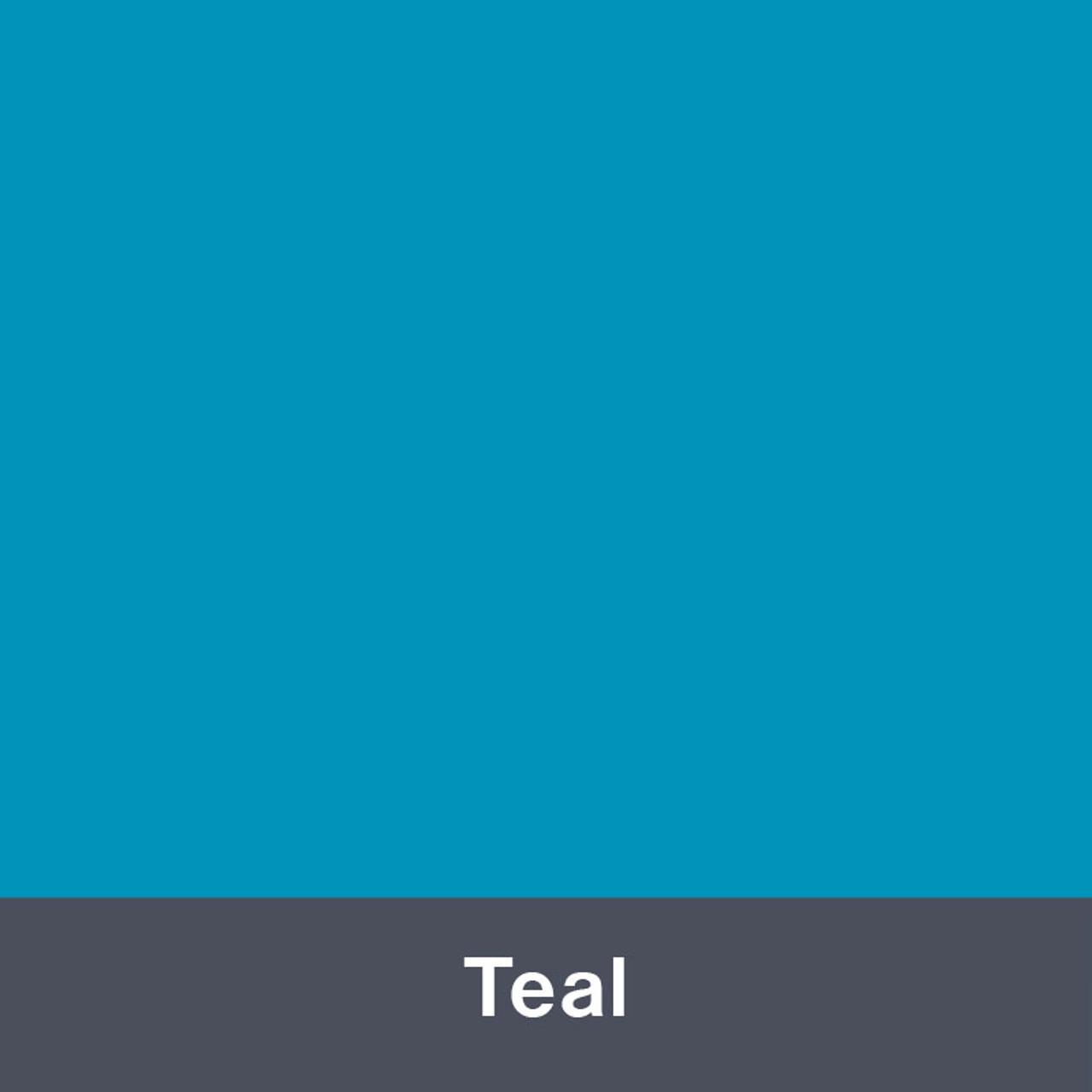 """Teal (Matte) 12"""" x 24"""""""