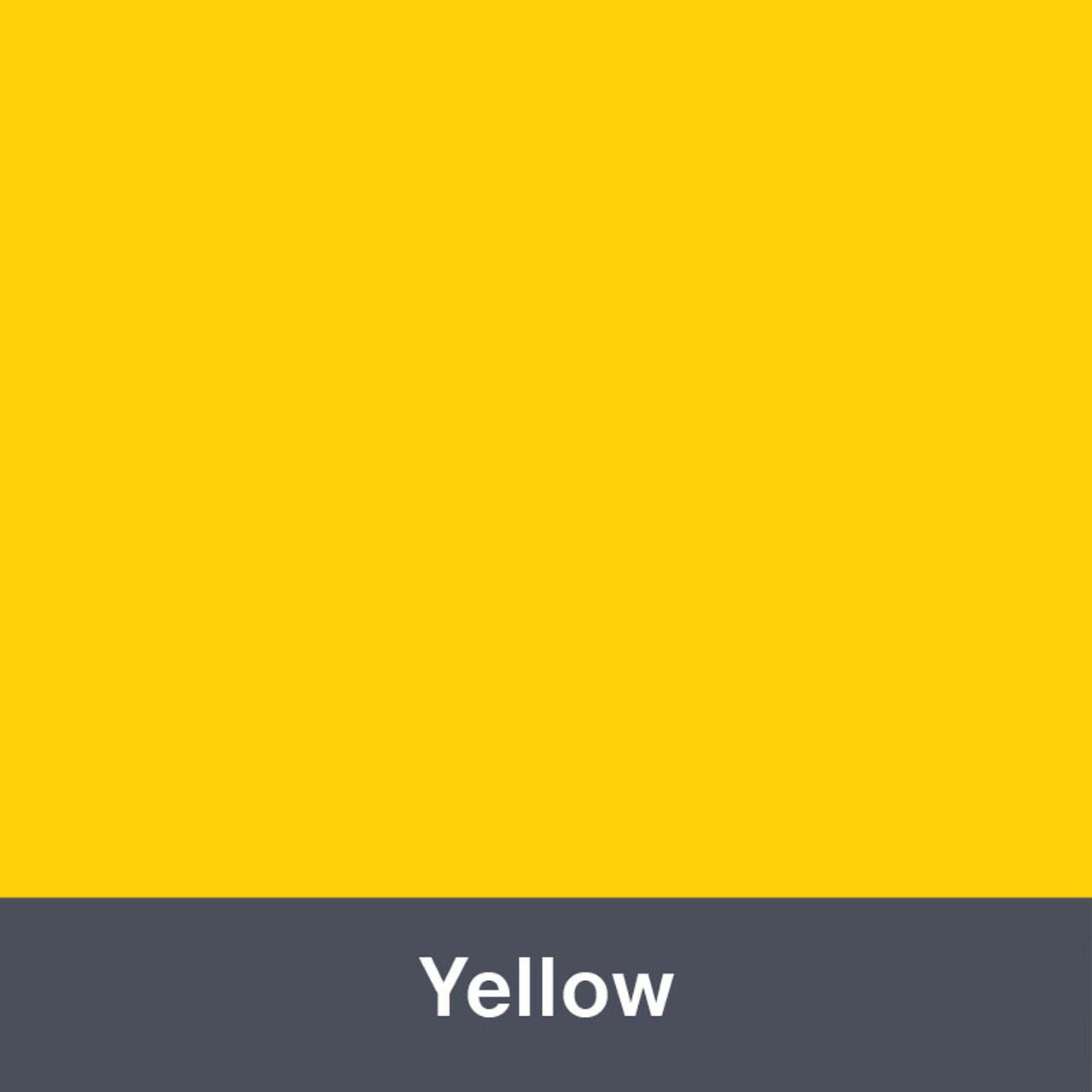 """Yellow (Gloss) 12"""" x 24"""""""