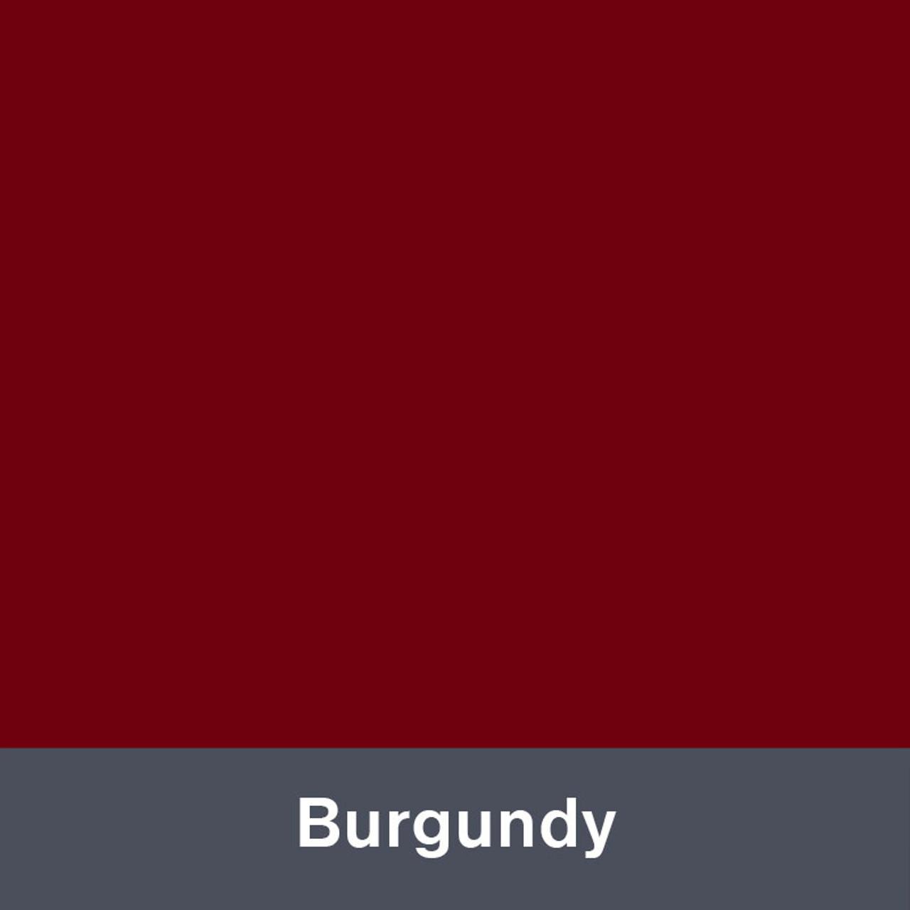 "Burgundy (Gloss) 12"" x 24"""