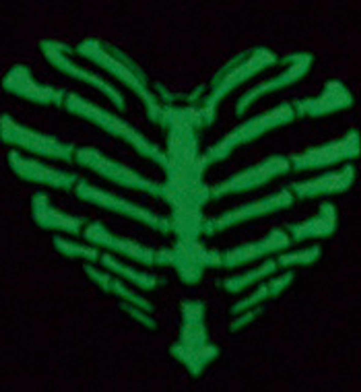 """Iron-on Glow-in-the-Dark 9.875"""" x 12"""""""