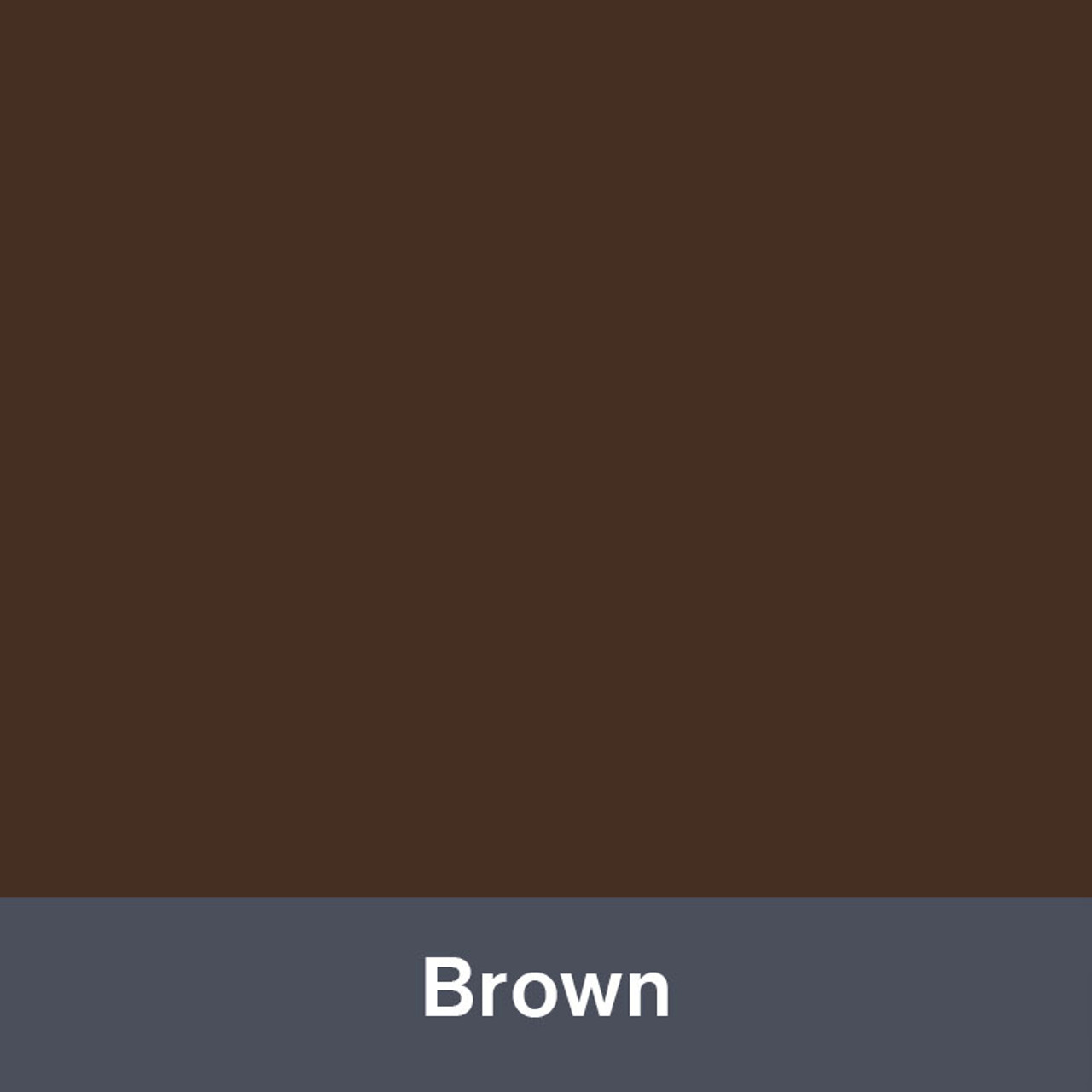 """Brown (Gloss) 12"""" x 24"""""""